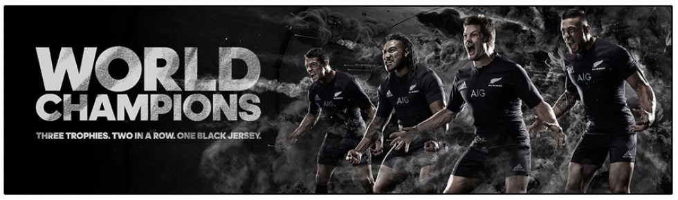 NEW ZEALAND RUGBY / ALL BLACKS 2015-17